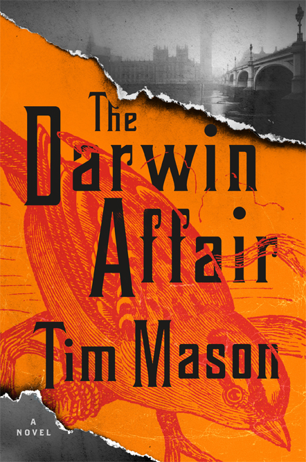 The Darwin Affair, a Victorian historical thriller out June 11th, 2019